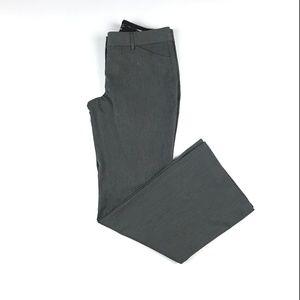 Express Gray Editor Dress Pants Wide Leg Size 6